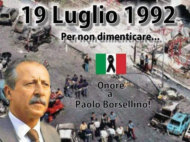 Palermo 19 luglio 2021